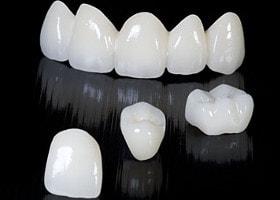 Zirconia crowns. Zirconium in dentistry<